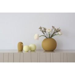 Cooee Design Ball vase i farven Ochre