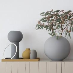 Cooee Keramik fugl grå 12 cm