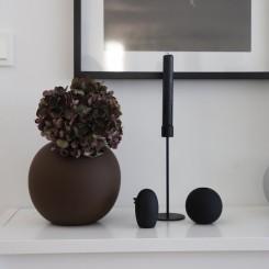 Cooee Design keramik fugl 8 cm. sort