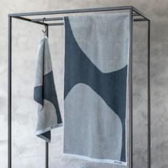 Mette Ditmer Håndklæde Rock i farven slate blue