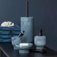Mette Ditmer Badeværelses serie ATTITUDE i farven slate blue