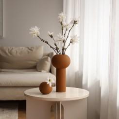 Cooee Design Pillar vase 24 cm. I farven I coconut
