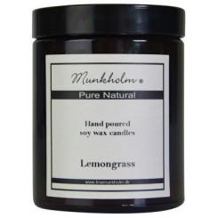 Munkholm Duftlys med duft af Lemongrass