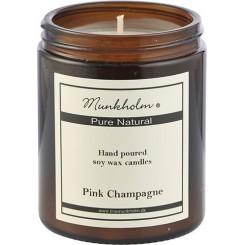 Munkholm Duftlys med en skøn duft af Pink Champange