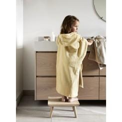 Høie Børnehåndklæde / Poncho Sheliak i farven Gul