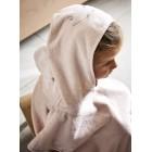 Høie børnehåndklæde / Poncho Sheilak i farven Dus Rosa