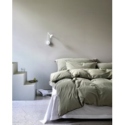 Høie sengesæt Frøya i farven lys oliven