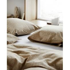 Høie økologisk sengesæt William i farven okker