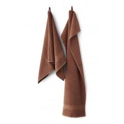 Compliments Håndklæder Slow i farven Brick/ Rust