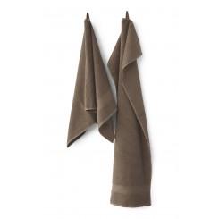 Compliments Håndklæder Slow i farven brun