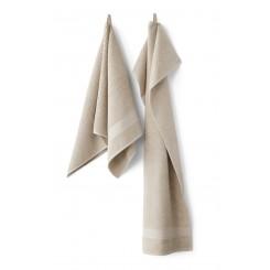 Compliments Håndklæder Slow i farven linen /rå hvid